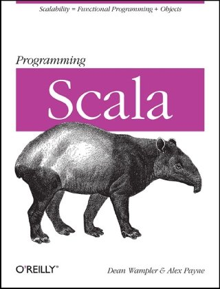 Large book cover: Programming Scala