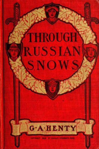 Large book cover: Through Russian Snows