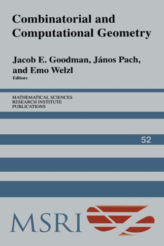 Large book cover: Combinatorial and Computational Geometry