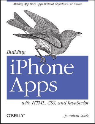Large book cover: Building iPhone Apps with HTML, CSS, and JavaScript