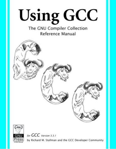 Large book cover: Using GCC: The GNU Compiler Collection Reference Manual for GCC