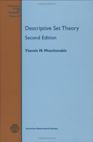 Large book cover: Descriptive Set Theory