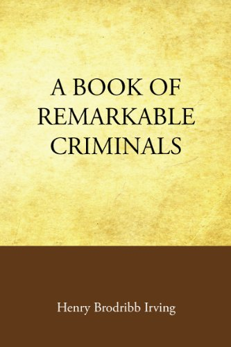 Large book cover: A Book of Remarkable Criminals