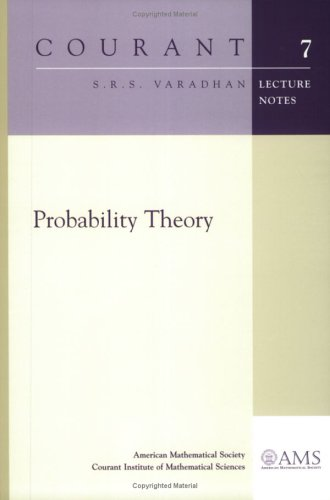 Large book cover: Probability Theory
