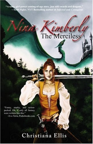 Large book cover: Nina Kimberly the Merciless