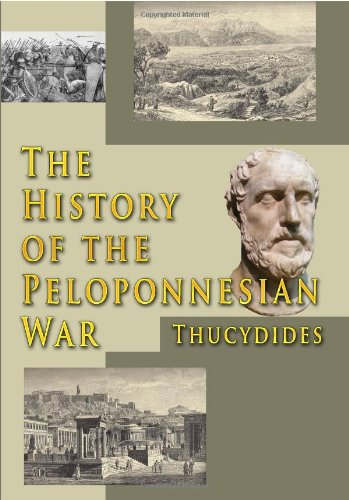 Large book cover: The History of the Peloponnesian War