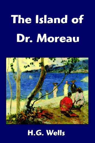 Large book cover: The Island of Dr. Moreau