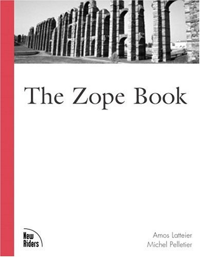 Large book cover: The Zope Book