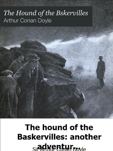 Large book cover: The Hound of the Baskervilles