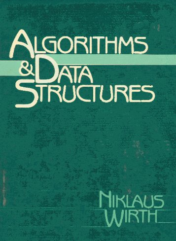 Large book cover: Algorithms and Data Structures