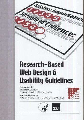Large book cover: Research-Based Web Design and Usability Guidelines