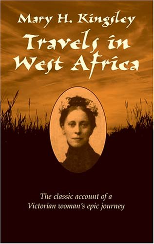 Large book cover: Travels in West Africa