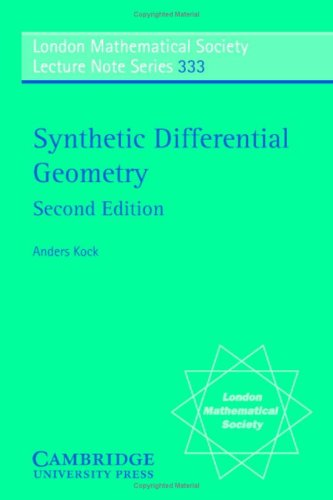 Large book cover: Synthetic Differential Geometry