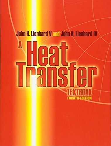 Large book cover: A Heat Transfer Textbook