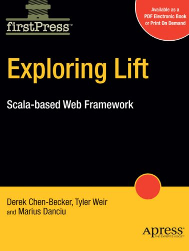 Large book cover: Exploring Lift