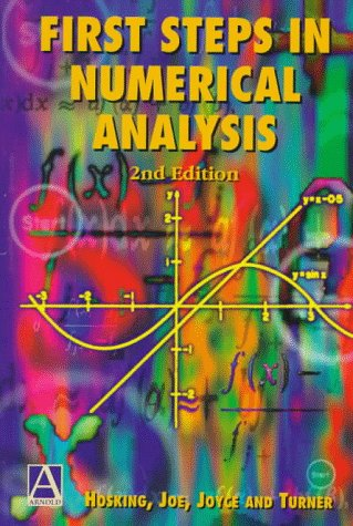 Large book cover: First Steps in Numerical Analysis