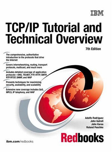 Large book cover: TCP/IP Tutorial and Technical Overview