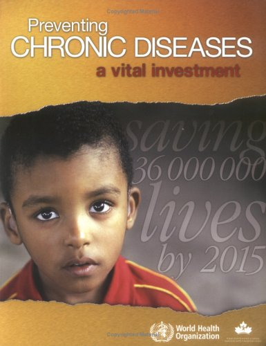 Large book cover: Preventing Chronic Diseases: A Vital Investment