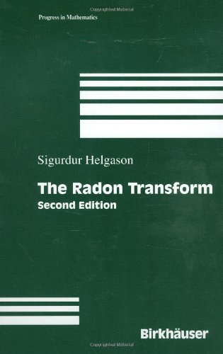 Large book cover: The Radon Transform