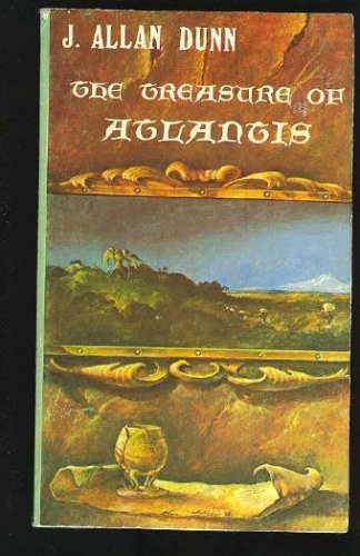 Large book cover: The Treasure of Atlantis