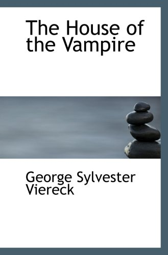 Large book cover: The House of the Vampire