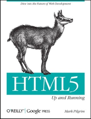 Large book cover: Dive Into HTML5