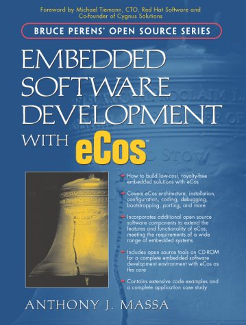 Large book cover: Embedded Software Development with eCos