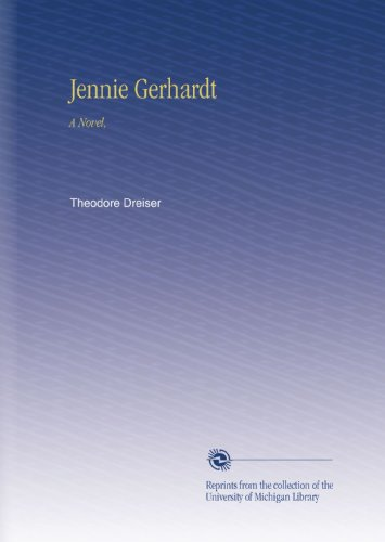 Large book cover: Jennie Gerhardt