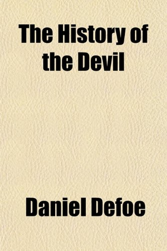 Large book cover: The History of the Devil