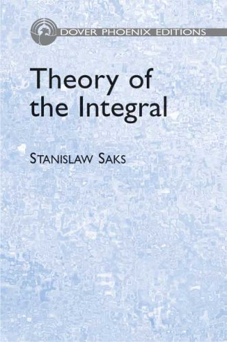 Large book cover: Theory of the Integral