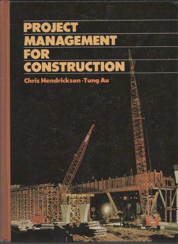 Large book cover: Project Management for Construction