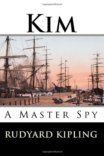 Large book cover: Kim