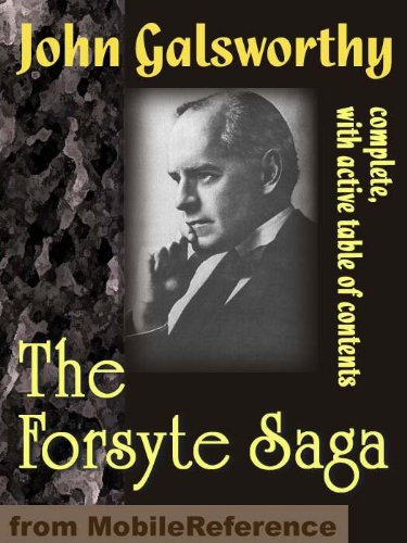 Large book cover: The Forsyte Saga - Complete