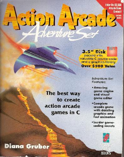 Large book cover: Action Arcade Adventure Set