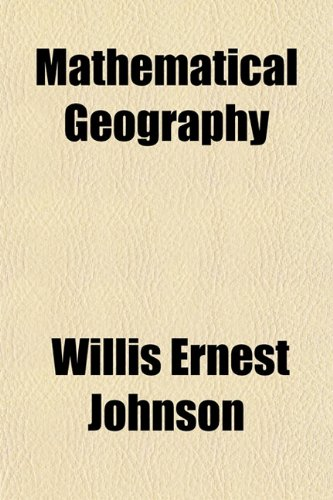 Large book cover: Mathematical Geography