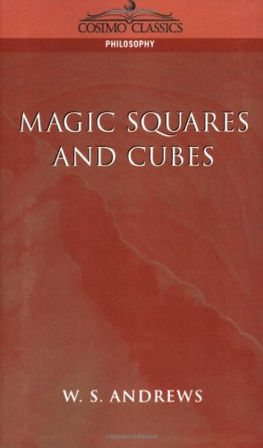 Large book cover: Magic Squares and Cubes