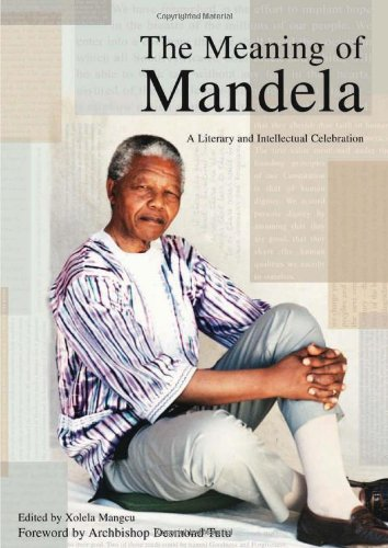 Large book cover: The Meaning of Mandela