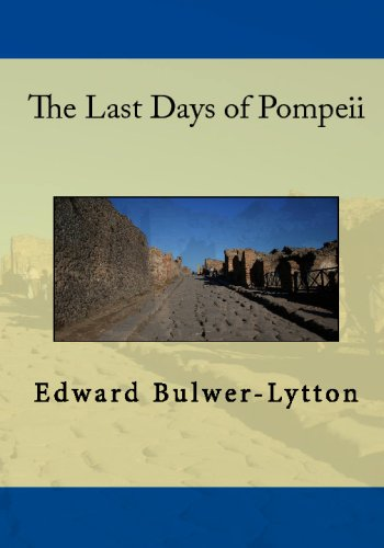 Large book cover: The Last Days of Pompeii