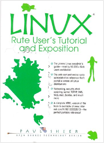 Large book cover: LINUX: Rute User's Tutorial and Exposition