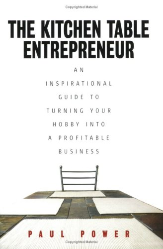 Large book cover: The Kitchen Table Entrepreneur