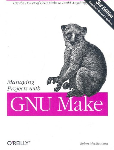 Large book cover: Managing Projects with GNU Make