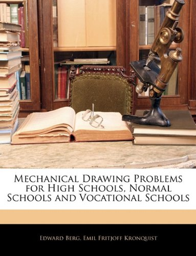 Large book cover: Mechanical Drawing Problems