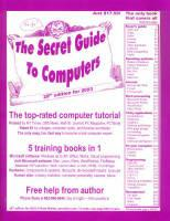 Large book cover: The Secret Guide to Computers