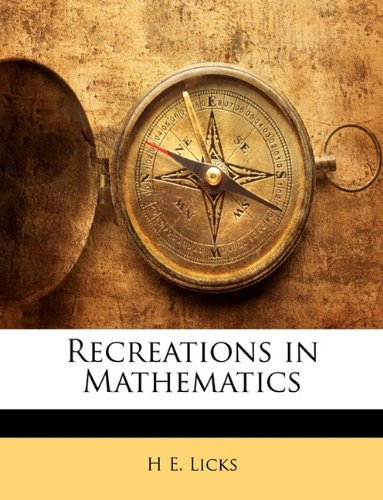 Large book cover: Recreations in Mathematics