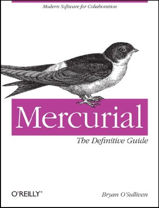 Large book cover: Mercurial: The Definitive Guide