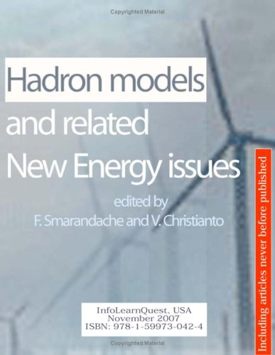 Large book cover: Hadron Models and related New Energy issues