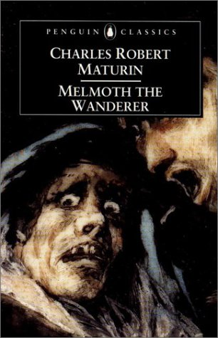 Large book cover: Melmoth the Wanderer