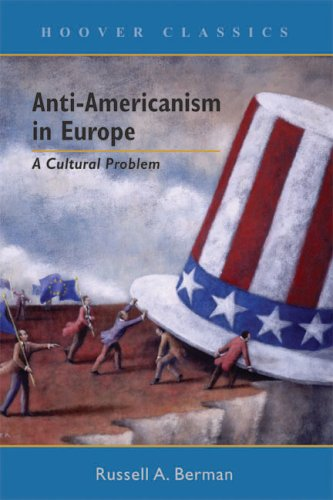 Large book cover: Anti-Americanism in Europe: A Cultural Problem