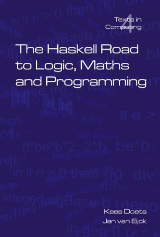 Large book cover: The Haskell Road to Logic, Maths and Programming