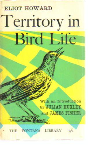 Large book cover: Territory in Bird Life